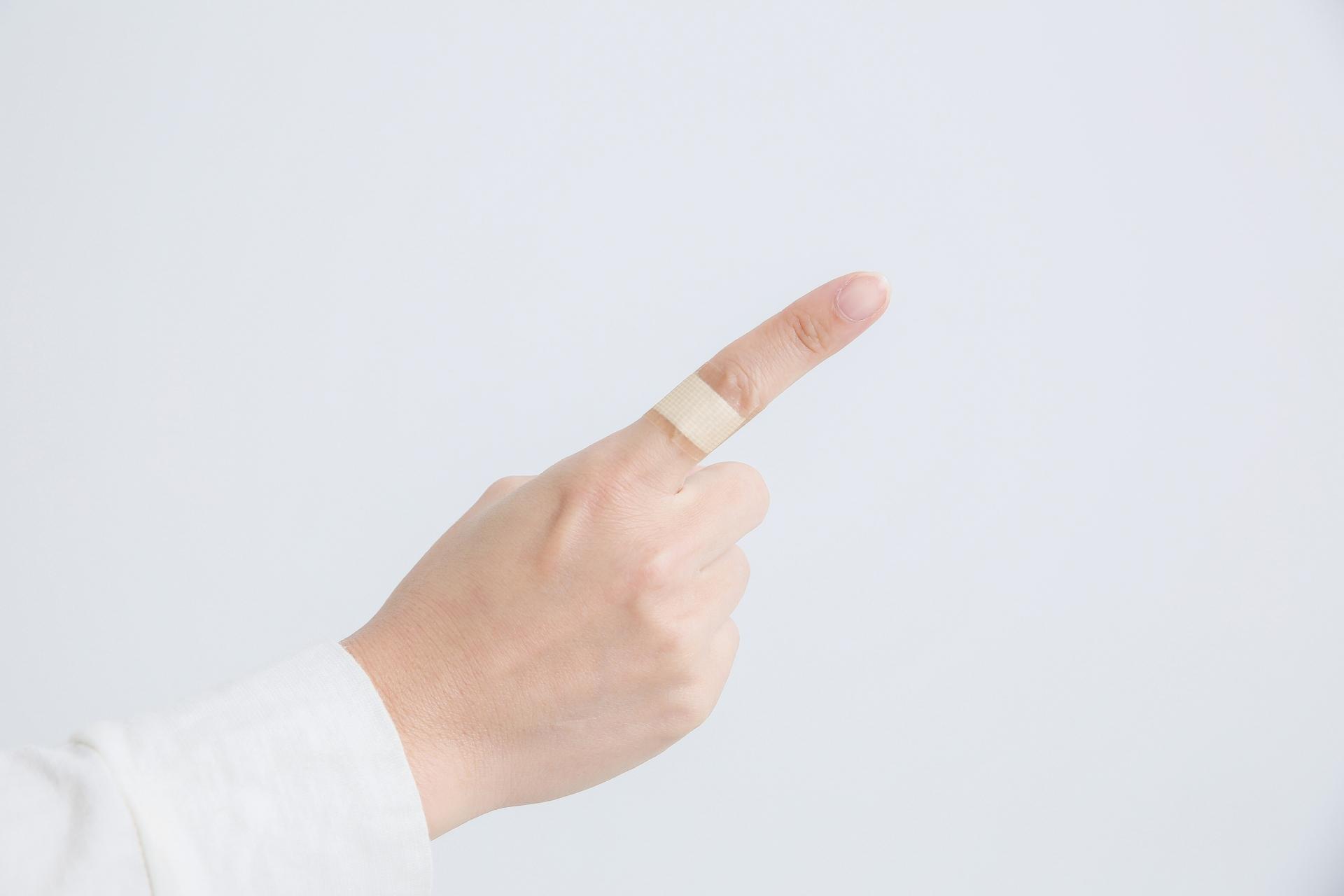 指 切り傷
